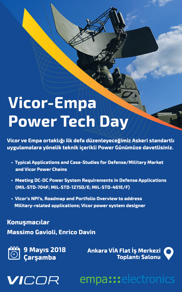 Vicor – Empa Power Tech Day